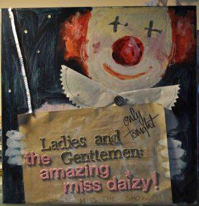 Miss Daisy, die Seiltänzerin, Ansage