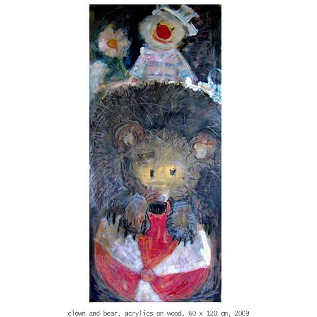 clown and bear