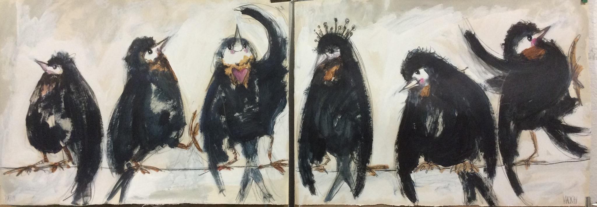 birds | macknifique art & design