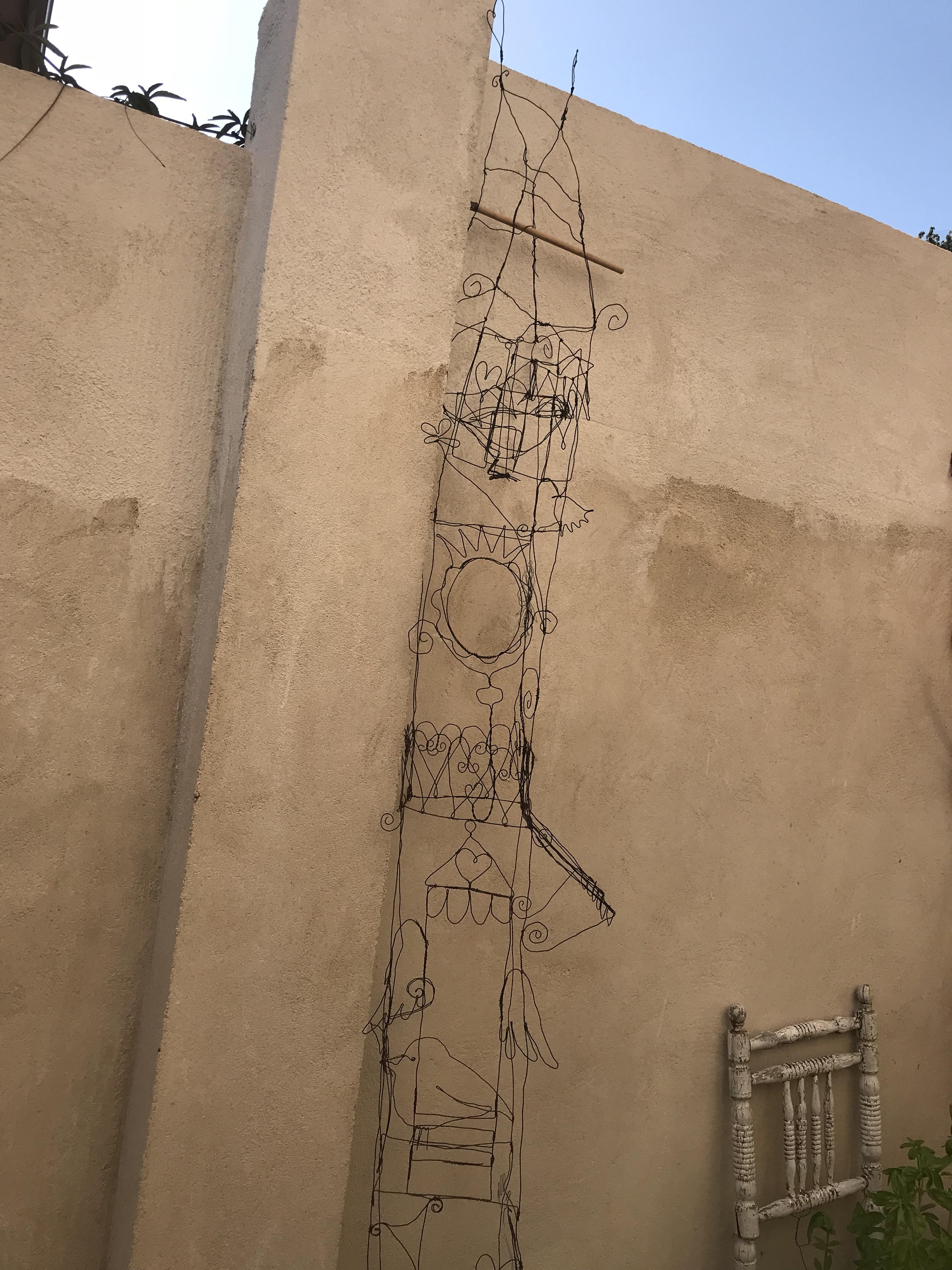 Wire garden house | macknifique art & design